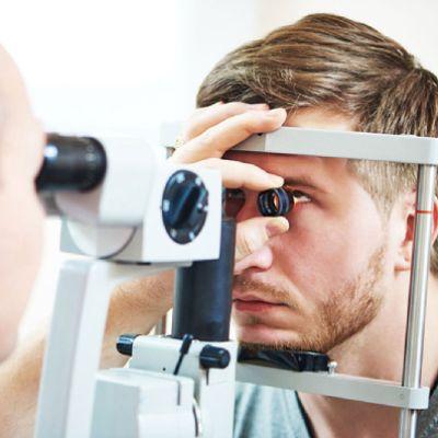 esame della vista a domicilio